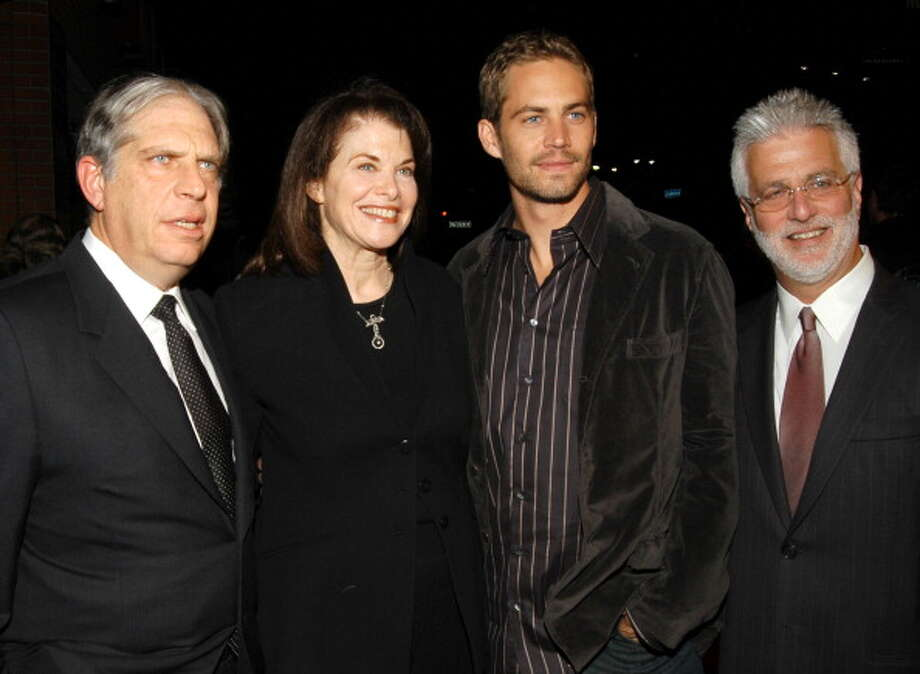 Jonathan Dolgden, Sherry Lansing, Paul Walker and Rob Friedman (Photo by Mark Sullivan/WireImage) Photo: Mark Sullivan, WireImage / WireImage