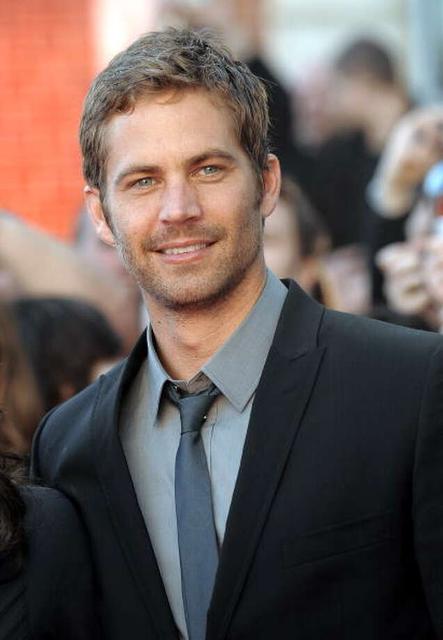 "PARIS - MARCH 16:  Paul Walker attends ""La fille RER"" Premiere on March 16, 2009 at La Cinematheque in Paris, France  (Photo by Dominique Charriau/WireImage) Photo: Dominique Charriau, WireImage / 2009 Dominique Charriau"