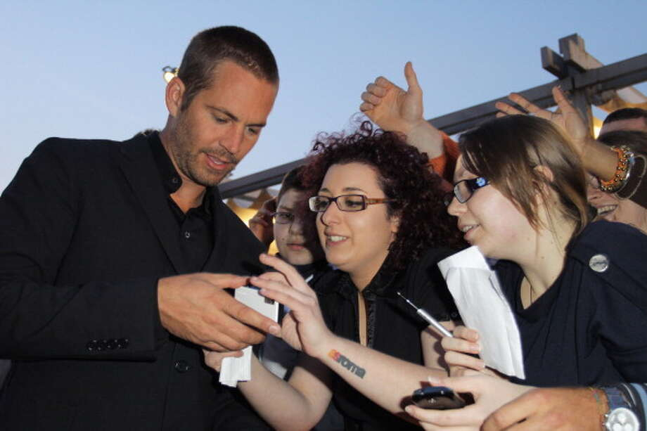 "ROME, ITALY - APRIL 29:  Paul Walker attends the ""Fast & Furious 5"" premiere at UGC Cinema on April 29, 2011 in Rome, Italy.  (Photo by Ernesto Ruscio/Getty Images) Photo: Ernesto Ruscio, Getty Images / 2011 Getty Images"
