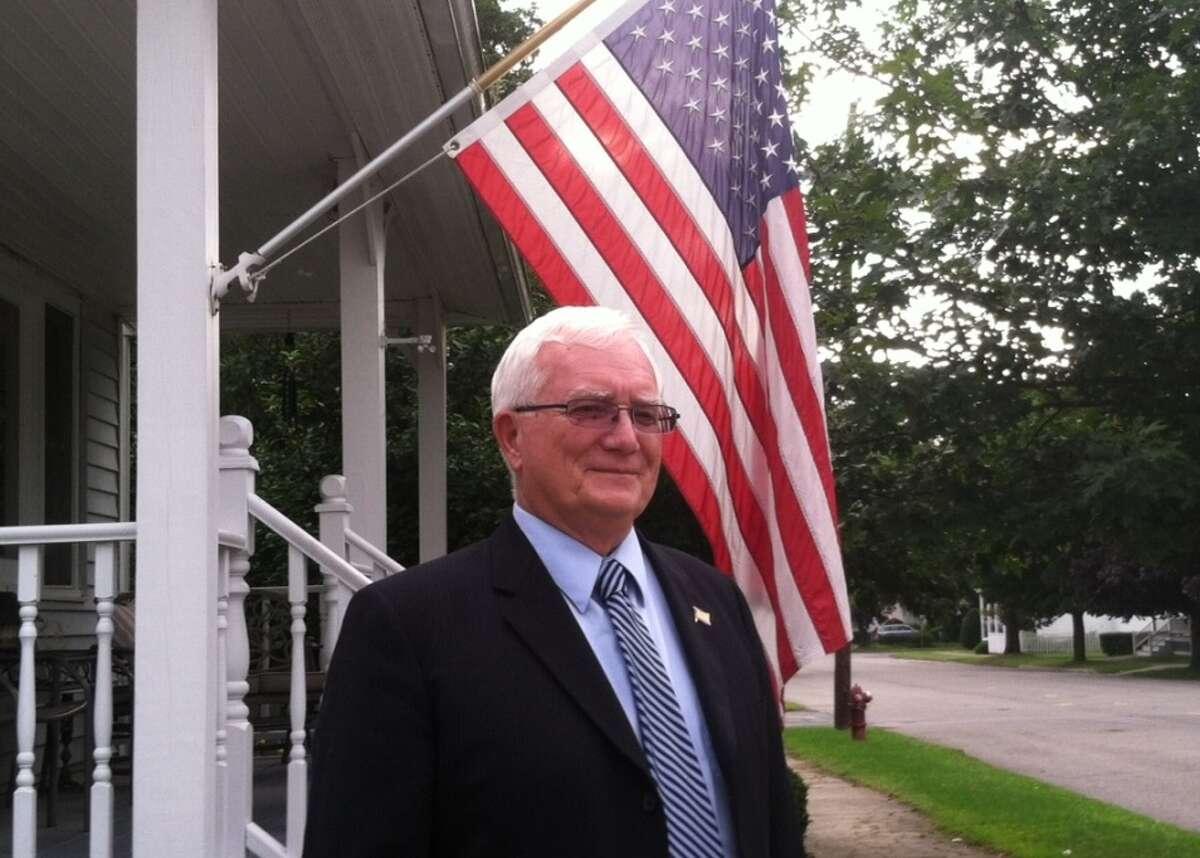 Mechanicville Mayor Dennis Baker