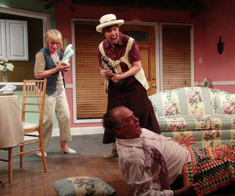 Triangle' offers up cheap geezer laughs - Times Union