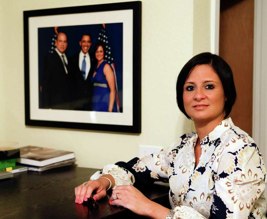 """One of the reasons that my husband and I moved here to Florida was to not feel like a second-class citizen,"" said Puerto Rican attorney Iara Rodriguez. Photo: John Raoux, STF / AP"