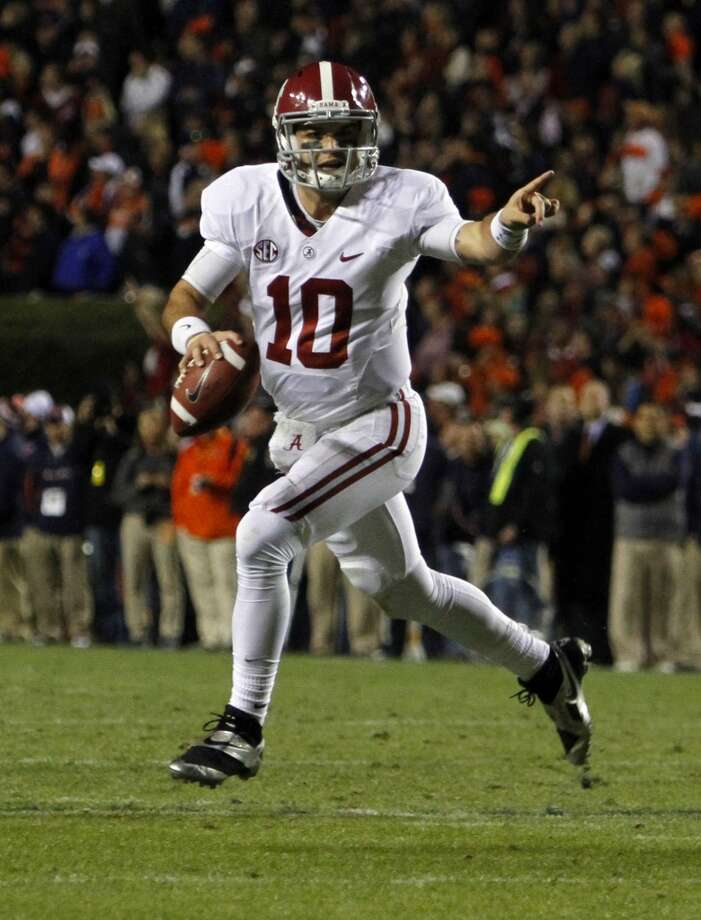 4. Alabama Photo: Butch Dill, Associated Press
