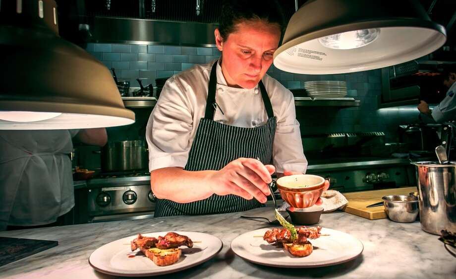 Chef/owner April Bloomfield at Tosca in San Francisco. Photo: John Storey, Special To The Chronicle