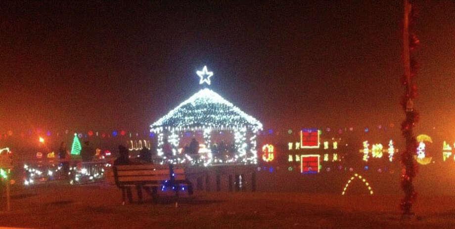 Sandy Creek Park Lights Up photo by Shannon Stott