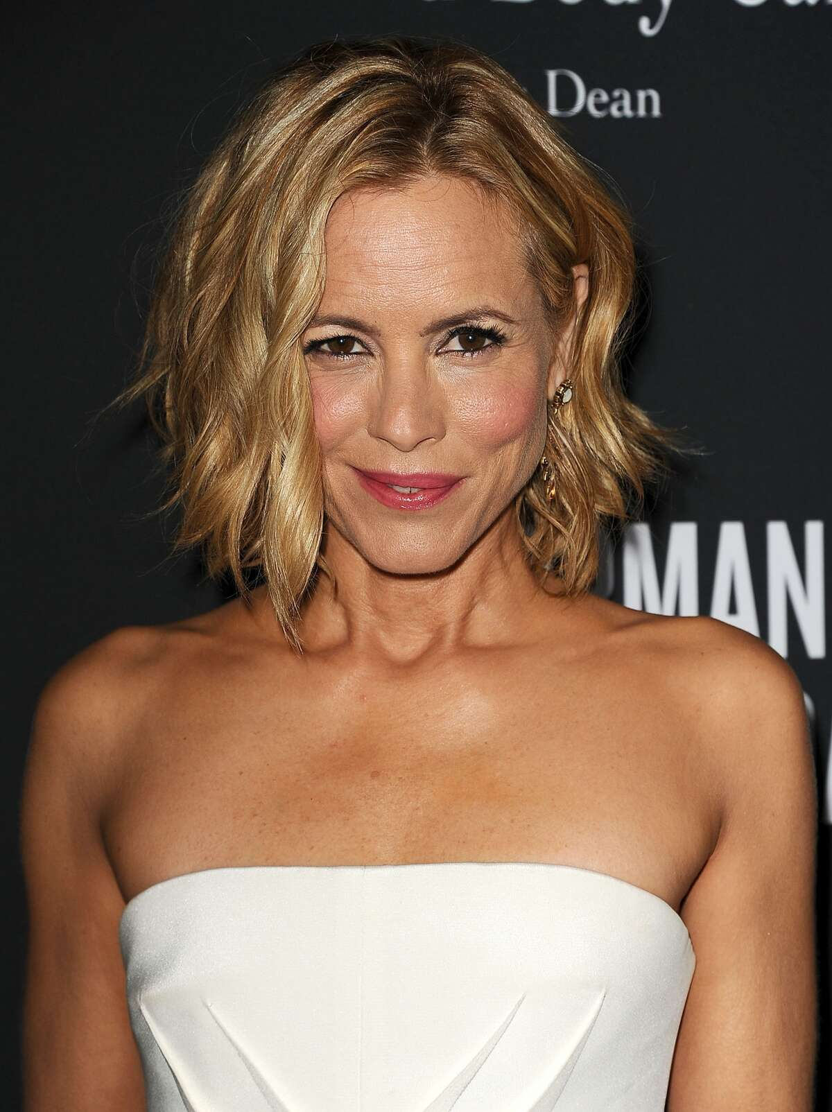 Actress Maria Bello has revealed she's in a relationship with a woman in a heartfelt article for the New York Times. The star wrote a piece for the newspaper on Friday, Nov. 27, 2913, recalling the moment she came out to her 12-year-old son, Jackson, who asked her if she was in a relationship with anyone. In the article, titled