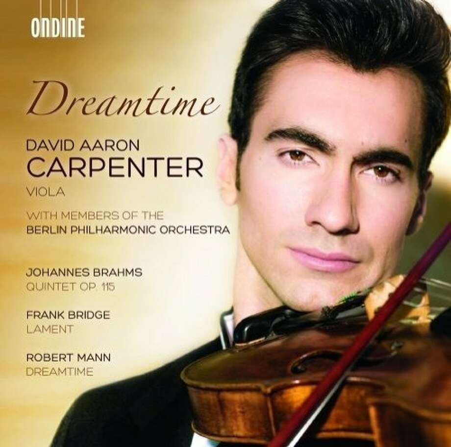 CD cover: David Aaron Carpenter Photo: Ondine