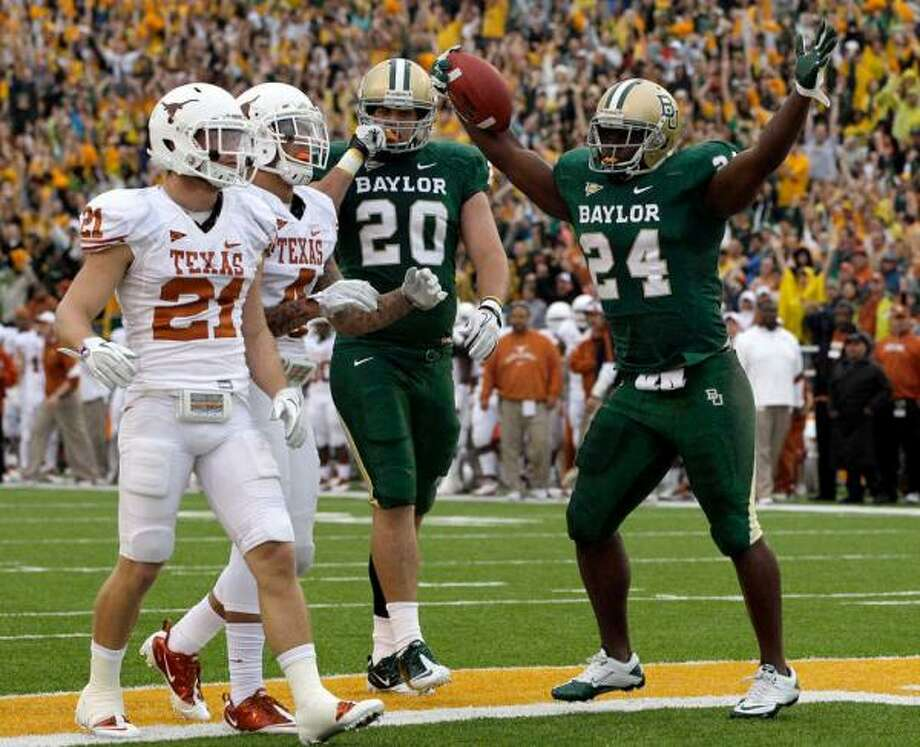 Baylor has won only two of the last 17 meetings with Texas.