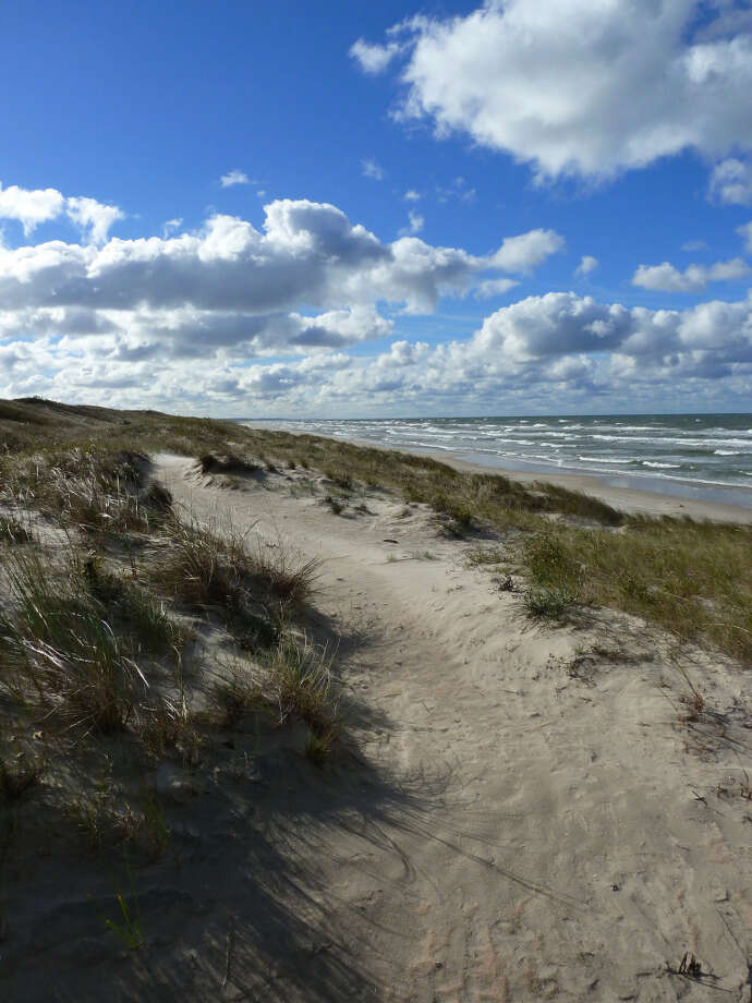 Environmental preservation (including on the Curonian Spit, pictured) is among the reasons Lithuania has made the list three years in a row.