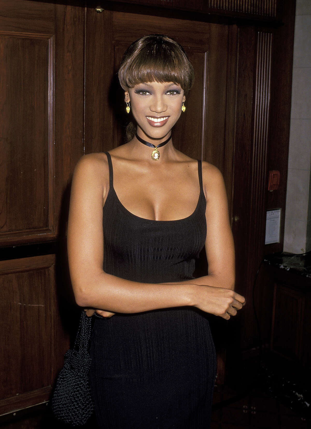 Tyra Banks in 1993.