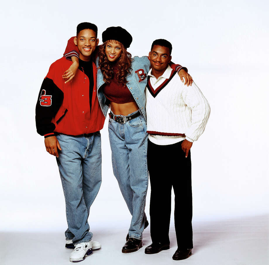 "Supermodel, actress and television personality Tyra Banks got her start on ""The Fresh Prince of Bel-Air"" back in the early 90s starring with Will Smith and Alfonso Ribeiro as Carlton Banks. Photo: NBC, NBC Via Getty Images / 2012 NBCUniversal, Inc."