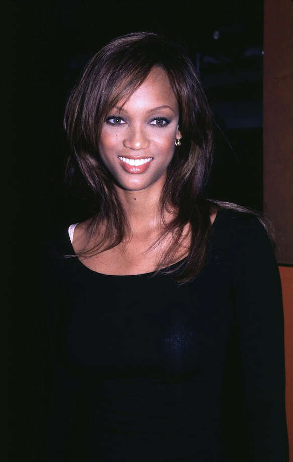"Tyra Banks at the New York premiere of ""Trainspotting"" in 1996. Photo: Steve Eichner, WireImage / WireImage"