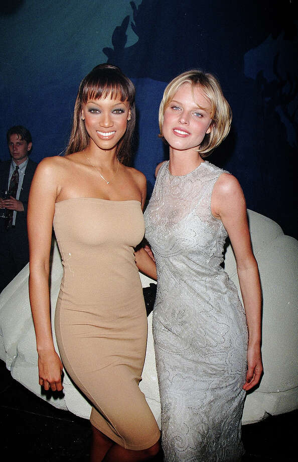 Tyra Banks and Eva Herzigova in 1998. Photo: Time & Life Pictures, Time Life Pictures/Getty Images / Time & Life Pictures