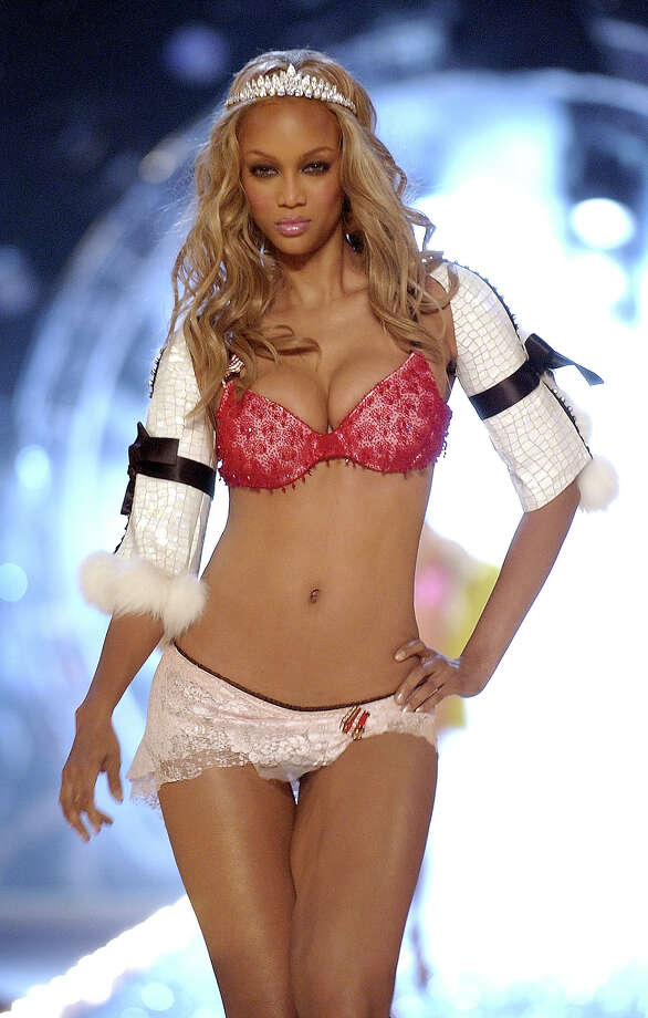 Tyra Banks during 9th Annual Victoria's Secret Fashion Show - Runway at The New York State Armory in New York City, New York, United States. Photo: KMazur, WireImage For Full Picture / WireImage