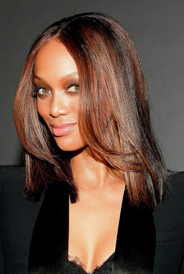 Model Tyra Banks attend the 4th Important Dinner for Women hosted by HM Queen Rania Al Abdullah, Wendi Murdoch and Indra Nooyi at Cipriani 42nd Street on September 23, 2009 in New York. Photo: Amy Sussman, Getty Images / 2009 Amy Sussman