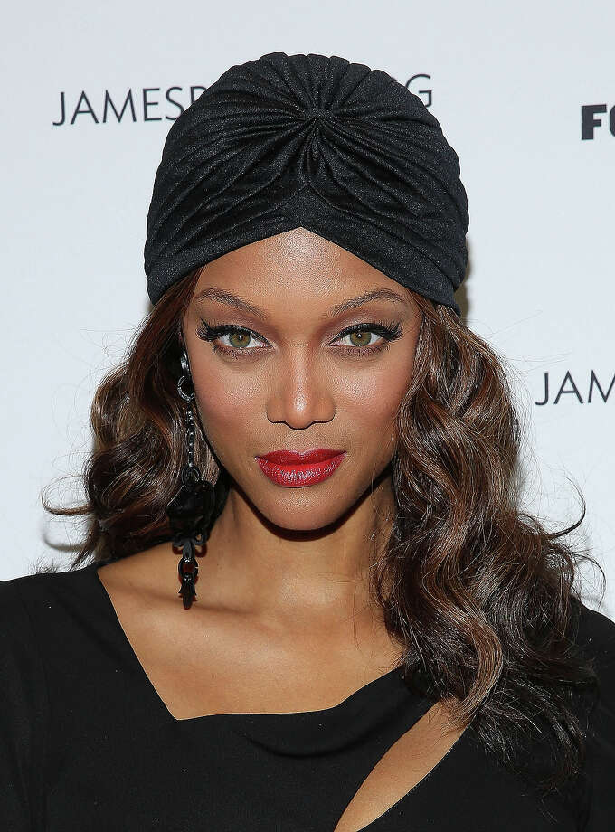 Tyra Banks attends 2013 The James Beard Foundation's Women In White gala at Four Seasons Restaurant on November 15, 2013 in New York City. Photo: Rob Kim, Getty Images / 2013 Getty Images