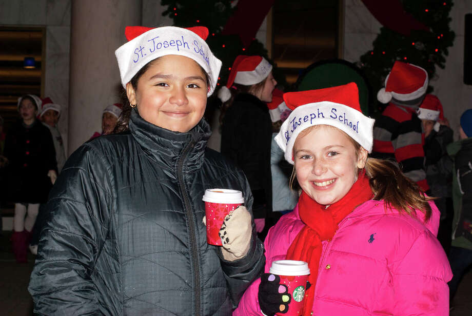 Were you SEEN at The Danbury Tree Lighting at Danbury Public Library on Saturday, November 30th, 2013? Photo: Kait Jaouen / Hearst Connecticut Media Group