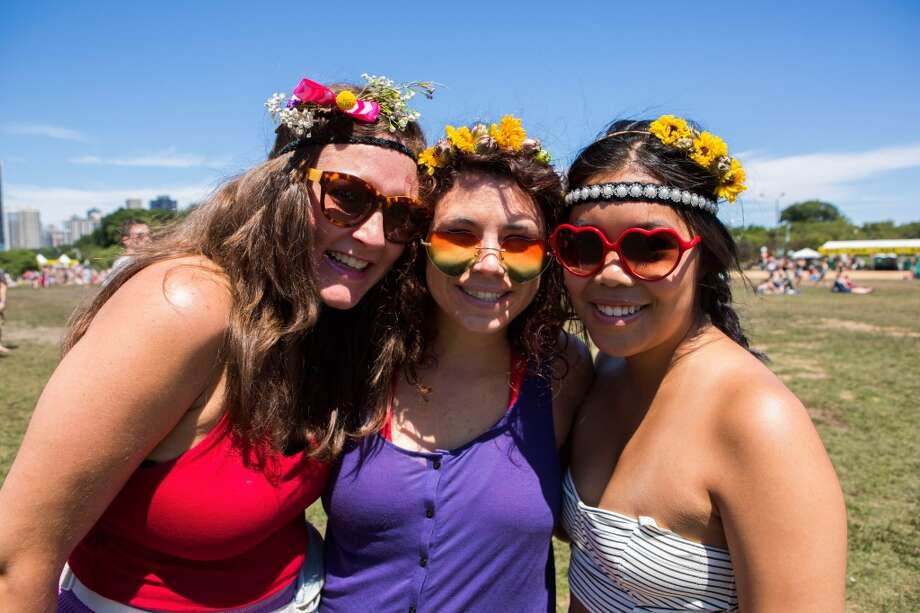 Festival fashionLet's take a moment to imagine what would happen if a music festival occurred and no one wore flower headbands, knee socks or bathing suits? Would the entire festival world just explode? Photo: Scott Legato, FilmMagic