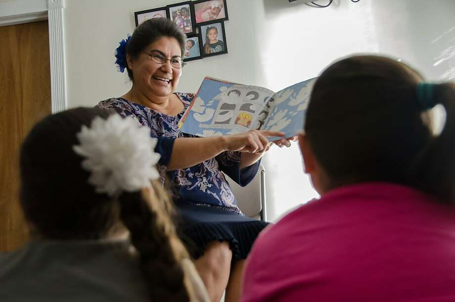 Tulare day care provider Maria Arellano has had a thyroid condition for years but isn't sure if she qualifies for subsidies. Photo: Lauren M. Whaley/CHCF Center For