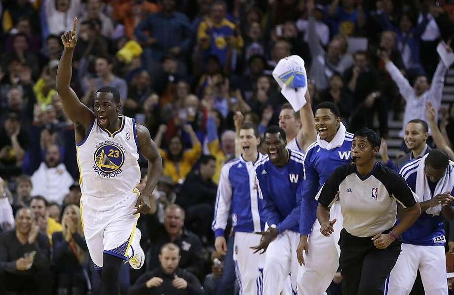 Second-year forward Draymond Green spent his offseason reshaping both his body and his jump shot, and positive results have followed this season. Photo: Ben Margot, Associated Press