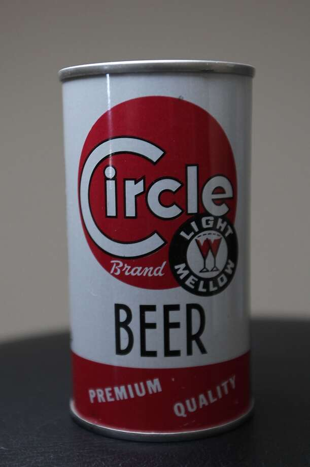 A can of Circle Brand beer which is part of Ken Knisely's beer can and beer memorabilia collection Wednesday, Nov. 27, 2013, in Houston.  ( James Nielsen / Houston Chronicle ) Photo: James Nielsen, Houston Chronicle
