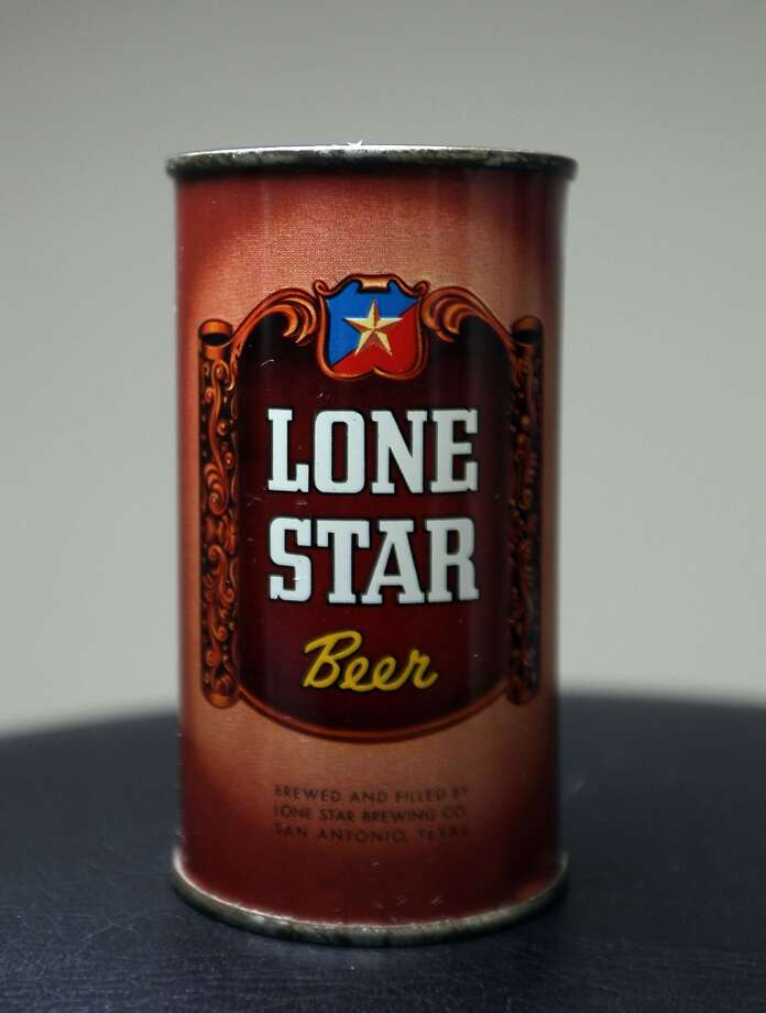 A can Lone Star which is part of Ken Knisely's beer can and beer memorabilia collection Wednesday, Nov. 27, 2013, in Houston.  ( James Nielsen / Houston Chronicle ) Photo: James Nielsen, Houston Chronicle