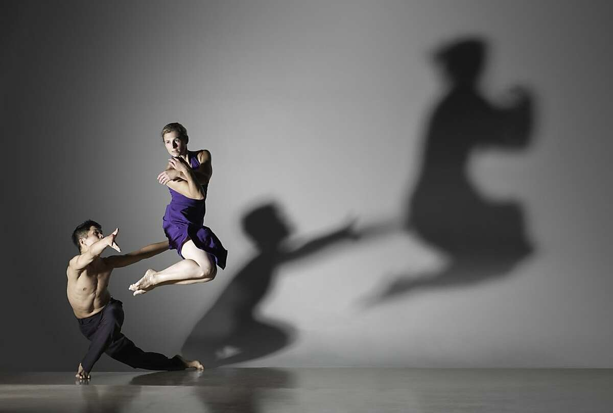 Printz Dance Project's HOVER SPACE with Dudley Flores and Stacey Printz Photo by Lois Greenfield