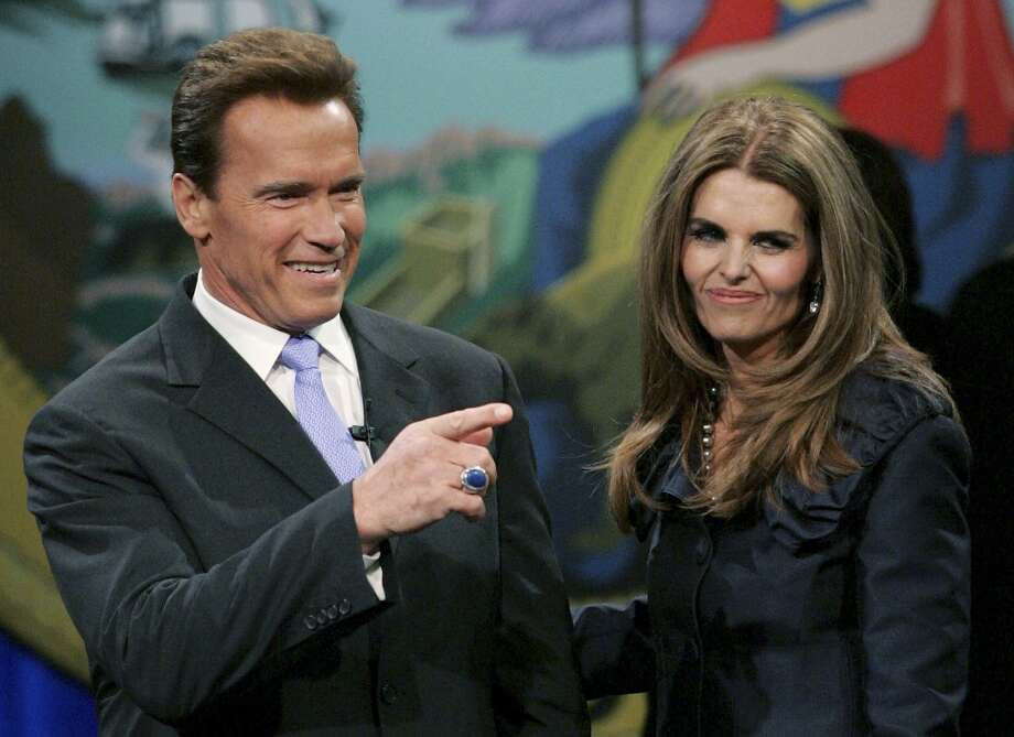 Obviously (from the last name, at least), his famous folks are actor/former California Governor Arnold Schwarzenegger and his estranged wife Maria Shriver. Photo: Justin Sullivan, Getty Images / 2007 Getty Images