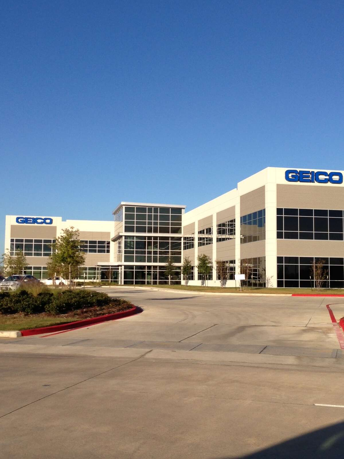 Geico has leased the entire Mason Creek Office Center I building at 21420 Merchants Way near Mason Road and Interstate 10 for a new claims operations center.