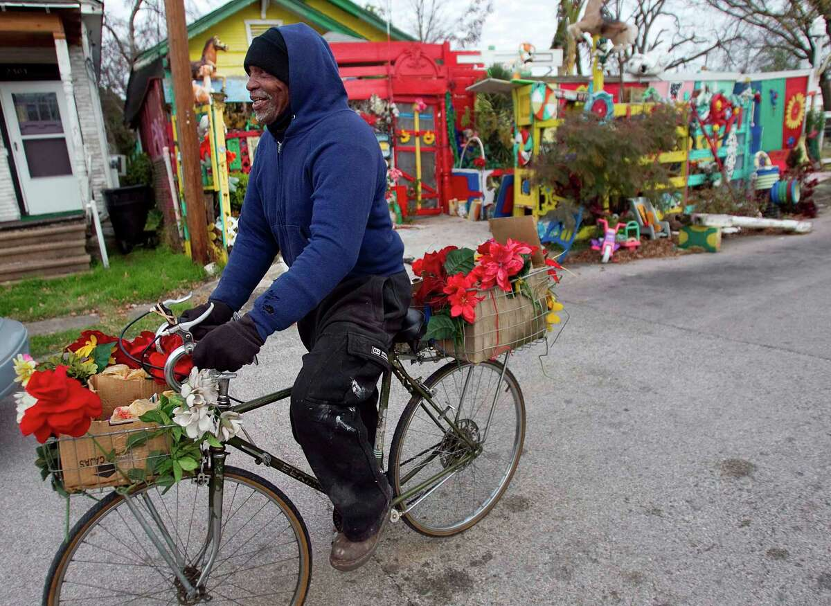 Cleveland Turner was a familiar sight riding his bicycle around his neighborhood.