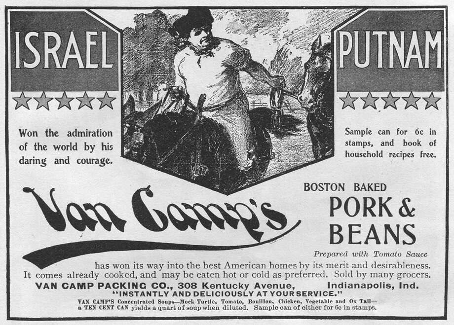 Revolutionary War hero Israel Putnam likes pork and beans, and so should you. Photo: Jay Paull, Getty Images / Archive Photos