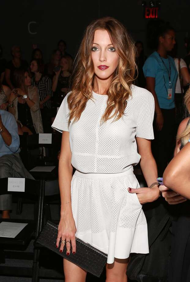 """This actress currently stars as  Laurel Lance on The CW series """"Arrow."""" Photo: Robin Marchant, WireImage"""