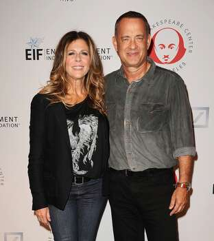 He's Chet Haze, son of Tom Hanks and Rita Wilson. Photo: Jason LaVeris, FilmMagic