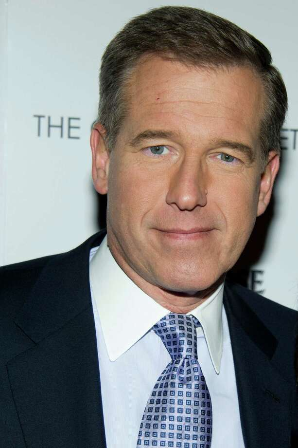 Yes, NBC Nightly News anchor Brian Williams is a serious news guy, but he's known for his sense of humor. Plus, he's a NASCAR fan. He lives in New Canaan. Photo: Charles Sykes, Associated Press / FR170266 AP