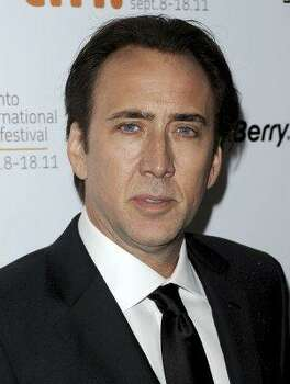 Weston's famous dad? Actor Nicolas Cage. Photo: Jason Merritt, Getty Images