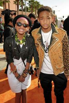 "Singer Willow Smith, 11, launched her career with 2010's ""Whip My Hair Back and Forth."" Her brother Jaden Smith starred alongside Jackie Chan in the remake of ""Karate Kid."" Photo: John Shearer, Getty Images For KCA / 2012 Getty Images"