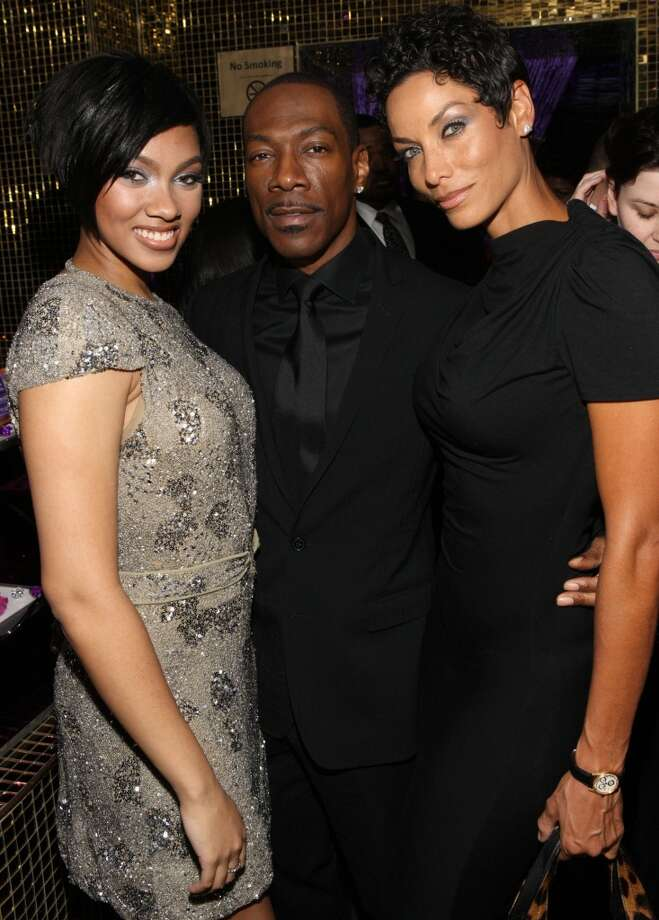 She's Bria Murphy, daughter of Eddie Murphy and his ex-wife, Nicole Murphy. Photo: Bennett Raglin, /WireImage For Dark And Lovely