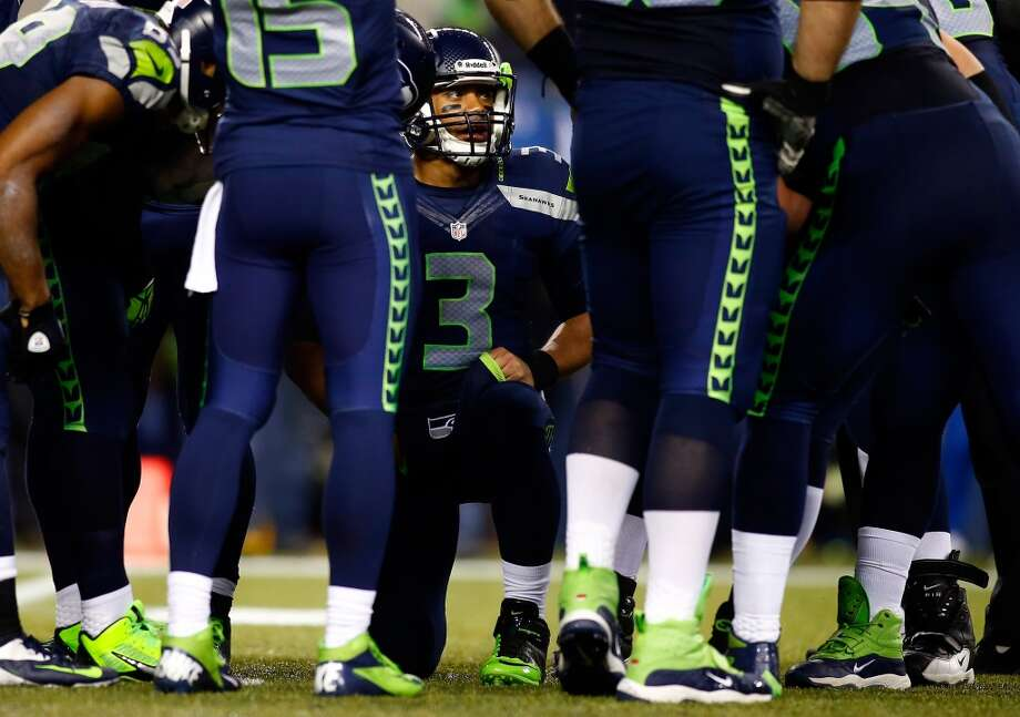 """Greats and Goats: Seahawks strike down SaintsThis highly-anticipated """"Monday Night Football"""" matchup was a little anticlimactic. The Seahawks jumped out to a 27-7 first-half lead and ran away with a 34-7 victory. Russell Wilson had one of his best games as a pro, and the Seattle defense was superb. The D held Saints quarterback Drew Bress under 200 yards and under 4 yards per attempt, his lowest performance by either of those stats this season.For the third-straight game, we were hard-pressed to identify any """"goats"""" among the Seahawks on Monday. So, we've chosen a few extra """"greats"""" to make up for it. Click through the gallery and see who we thought played the best against the New Orleans Saints. Then, go ahead and vote your your """"greats"""" in the poll below. Photo: Jonathan Ferrey, Getty Images"""