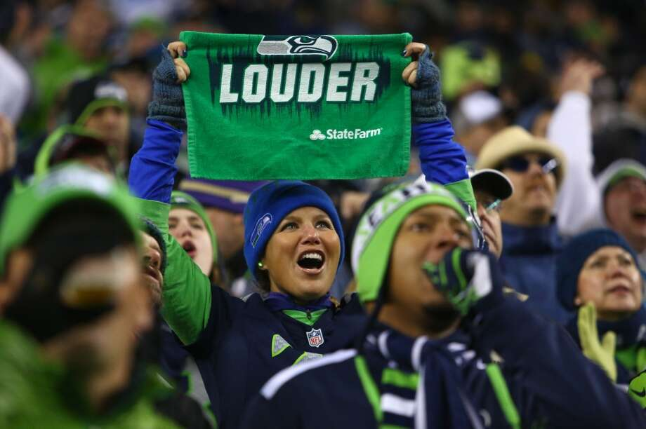 Seahawks fans cheer against for their team against the Saints during an NFL game on Monday, Dec. 2, 2013, at CenturyLink Field in Seattle. Photo: JOSHUA TRUJILLO, SEATTLEPI.COM