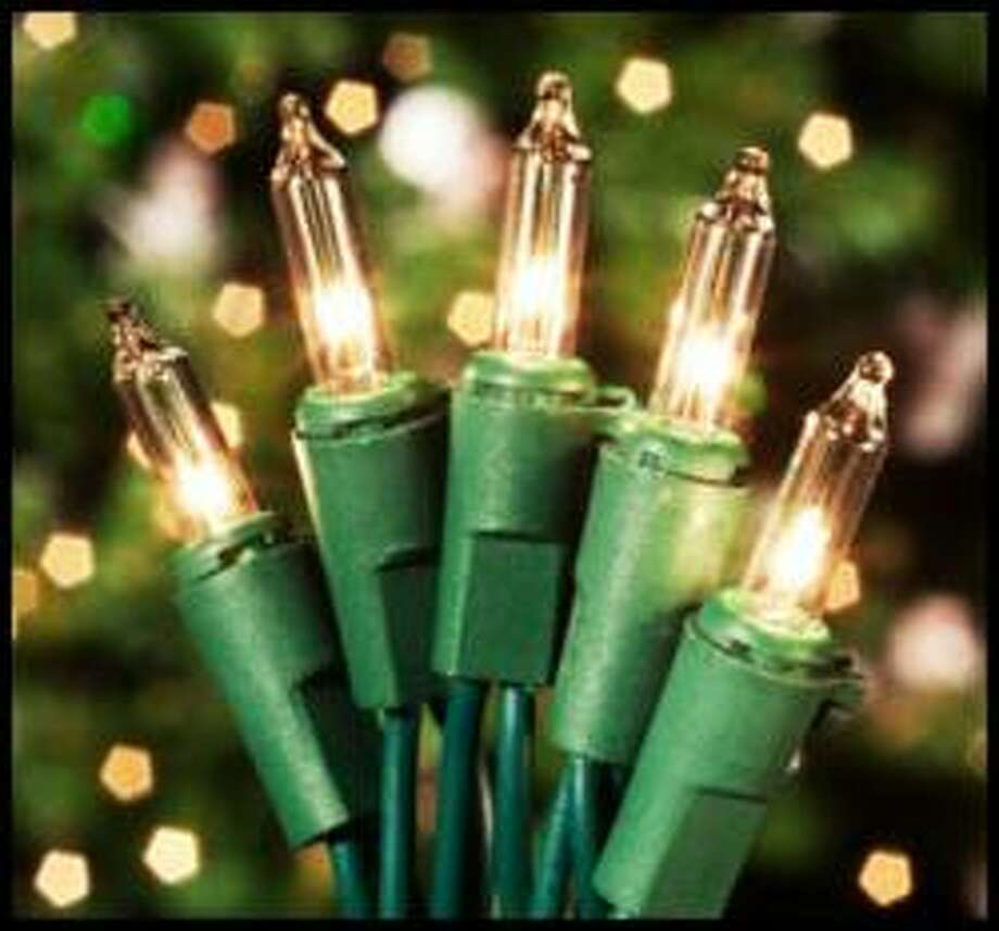 5. Make sure the lights workPlug in each strand ahead of time, to replace dead bulbs and figure out if some of your strands might have gone bad before you spend time wrapping trees in damaged lights. Photo: PRWeb