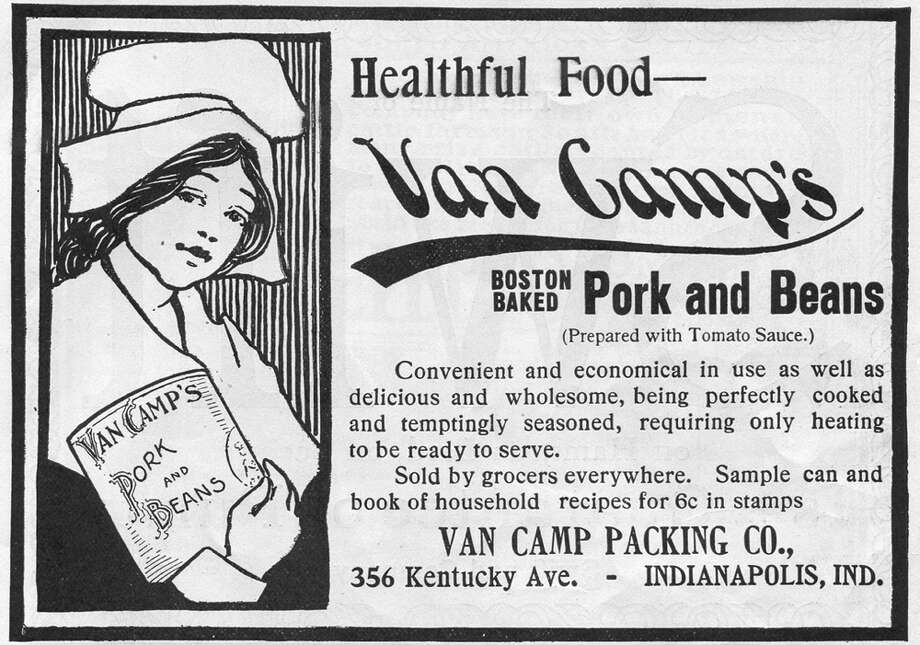 """Pork and beans also were advertised as a """"healthful"""" food. Photo: Jay Paull, Getty Images / Archive Photos"""
