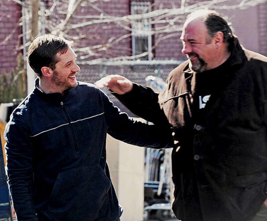 """James Gandolfini - On the set of """"Animal Rescue""""  Photo: Bobby Bank, WireImage / 2013 Bobby Bank"""
