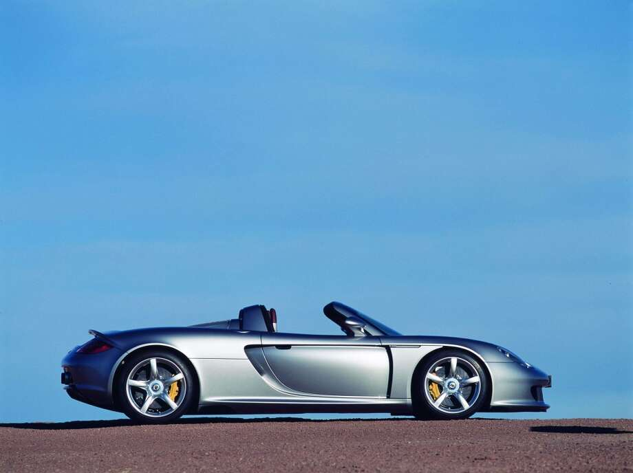 "Porsche Carrera GT wins Road & Track's  ""Best Dream Car 2004"". Photo: Anonymous, PR NEWSWIRE"