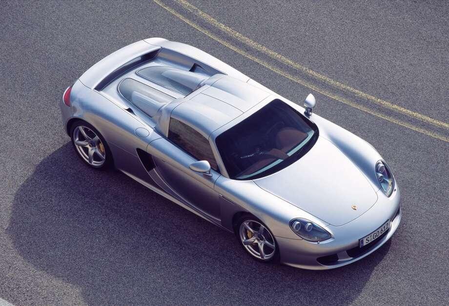 The Porsche Carrera GT. Photo: Associated Press