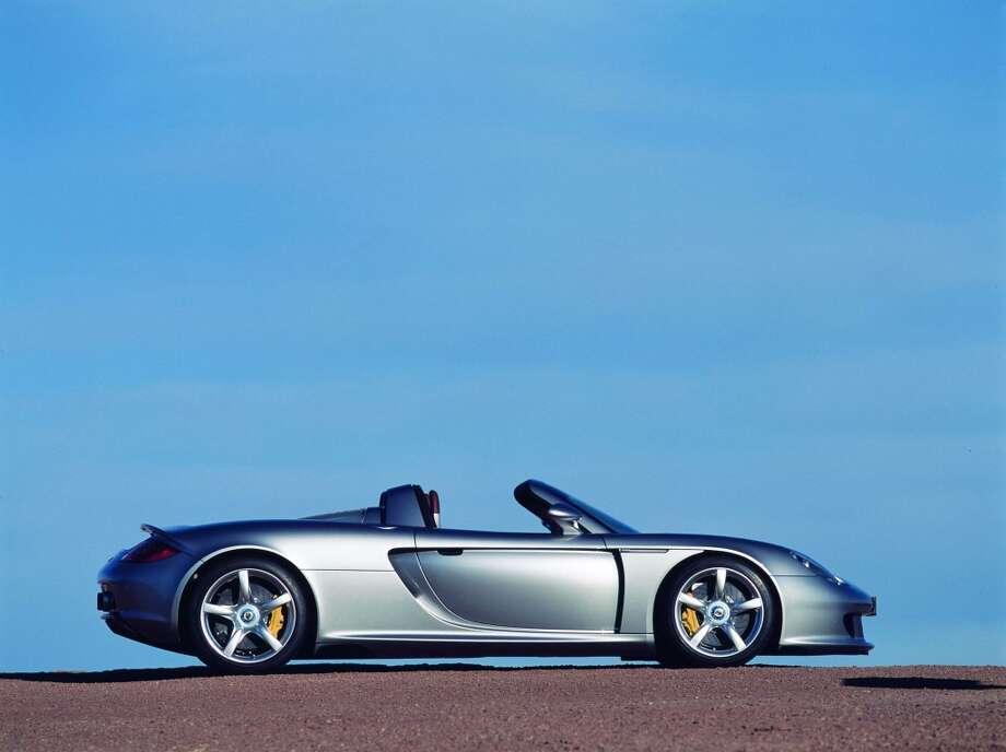 "Porsche Carrera GT wins Road & Track's  ""Best Dream Car 2004"". Photo: Anonymous, PR NEWSWIRE"