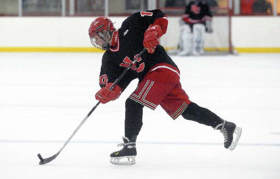 Kelsey Durkin, of New Canaan, who killed in a car crash in Virginia on Tuesday, Dec. 3, played on the girls' hockey team during her years at New Canaan High School. Photo: File Photo / New Canaan News file photo