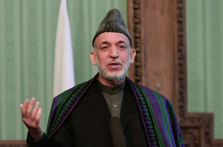Afghan President Hamid Karzai is hindering U.S. plans for withdrawing troops from Afghanistan in 2014. Photo: Rahmat Gul, Associated Press / AP