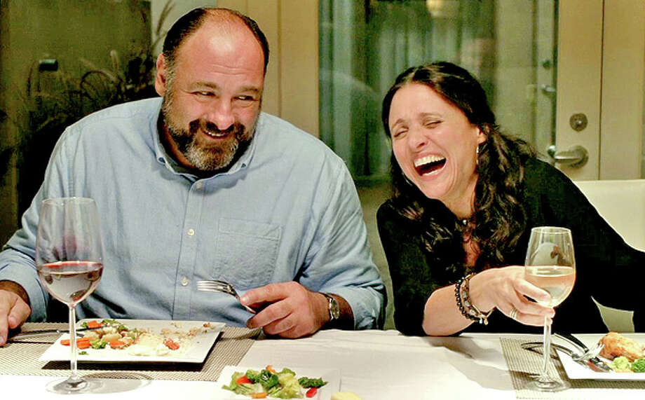 The late James Gandolfini isn't up for any awards for his role in 'Enough Said.' His co-star Julia Louis-Dreyfus got her name in the hat, though.