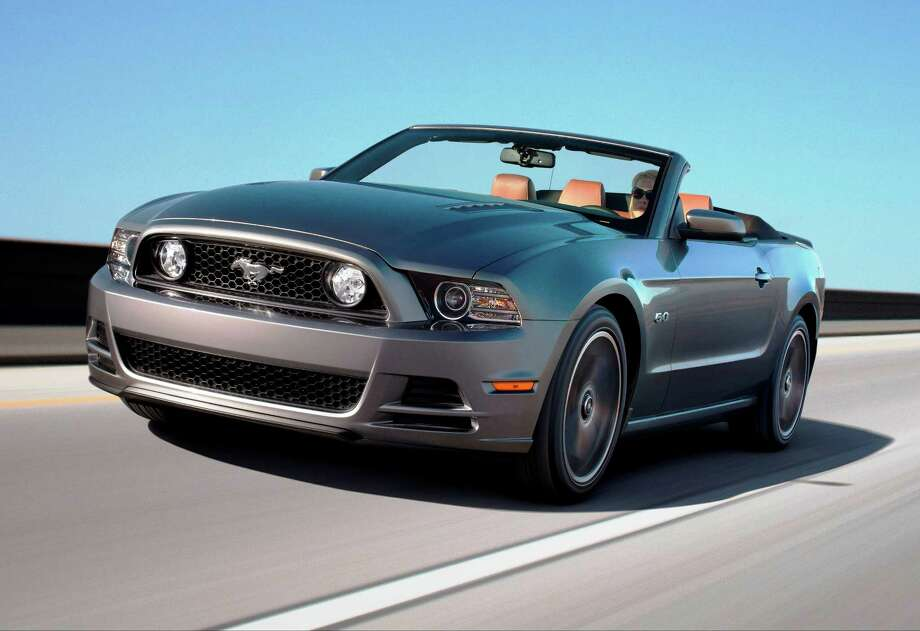 Ford unveiled a trio of new-for-2013 Mustangs at the Los Angeles Auto Show -- the standard Mustang (GT shown), Mustang Boss 302 and Shelby GT500. Photo: Ford Motor Co. / © 2011 Ford Motor Company