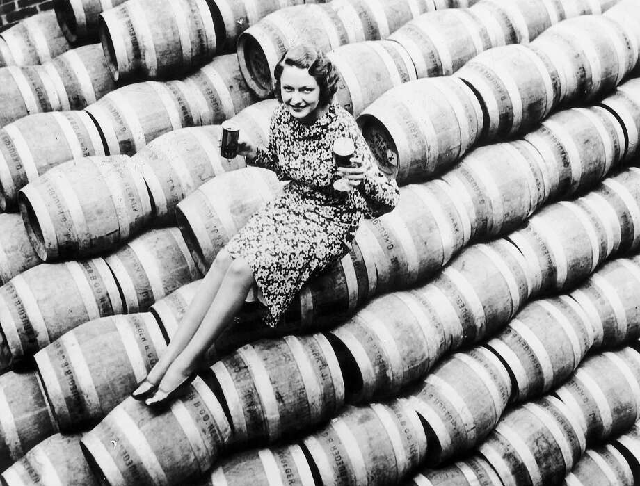 A woman celebrates the end of prohibition in 1933. Photo: Keystone-France, Gamma-Keystone Via Getty Images / 1933 Keystone-France